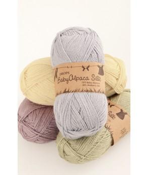 Пряжа DROPS Baby Alpaca Silk