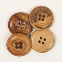 Пуговицы деревянные Cedar Drops