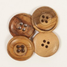 Пуговицы деревянные Drops Cedar