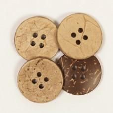 Пуговицы деревянные Coconut Drops