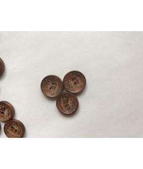 Пуговицы деревянные №2